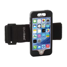 TuneBand for iPhone 5, Premium Sports Armband with Two Straps and Two Screen Protectors (Black):Amazon:Cell Phones & Accessories