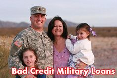 Bad credit military loans are here to offer financial support to military personnel's. With the loan, you can confirm the comfort as well as instant financial security for your family. You can arrange money in between $100 to $1000 for short span of time. www.nocreditcheckmilitaryloans.us  #badcreditmilitaryloans #badcreditloans #militaryloans