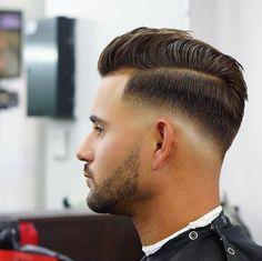 Men's Hairpiece Human Hair Toupee Wig Super Thin Skin Hair Replacement ( Off Black) Man Haircut 2017, Beard Haircut, Fade Haircut, Mens Haircut Undercut, Cool Hairstyles For Men, Trendy Haircuts, Haircuts For Men, Undercut Hairstyles, Hairstyles Haircuts