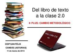 Del libro de texto a la clase 2.0 Professor, Spanish Teacher, App, Iphone, Digital, Socialism, Texts, Future Gadgets, Textbook