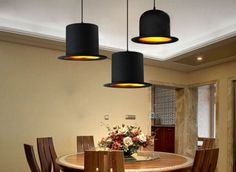 Vintage-Modern-industrial-Adjusted-DIY-Ceiling-Lamp-chandelier-Hat-Pendant-Light