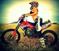 Dirt Bike Dream Girl