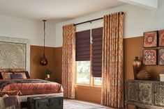 Interior Design Springs Window Fashions, Graber Blinds, Window Treatments Living Room, House Blinds, Living Room Color Schemes, Custom Drapes, Shades Blinds, Window Styles, Room Colors