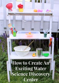 How to Create An Exciting Water Science Discovery Center