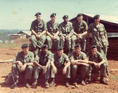 5TH SPECIAL FORCES GROUP.  During their ten years of combat in viet Nam, 13 of their warriors were awarded the Medal of Honor.