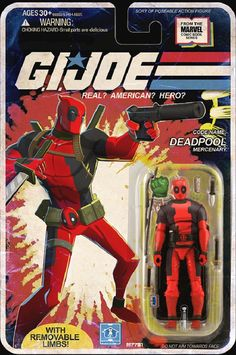 Even Deadpool's Not Sure How He Ended Up as a G.I. Joe Figure