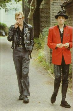 Paul Simonon and Mick Jones