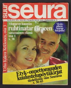 1975-FINNISH-VINTAGE-SEURA-MAGAZINE-35-GRACE-KELLY-ON-COVER-FINLAND