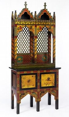 Gothic Revival Chair   Pre Raphaelite Art: Victorian furniture styles including the St ...