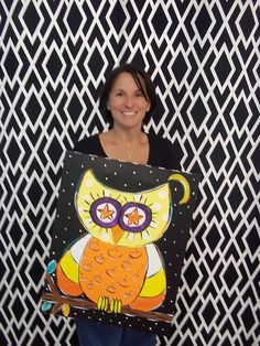 Owl-O-Ween by easelyamused, via Flickr
