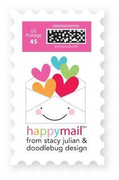 I totally would love a Happy Mail stamp!!!