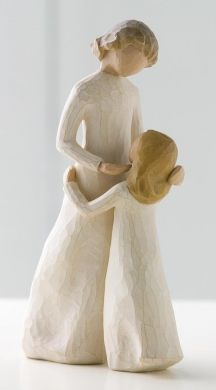 WillowTree Mother And Daughter Figurines  ~ I have this one along with several others