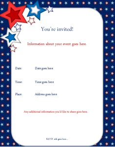 kids party invitations templates