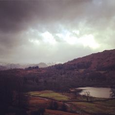 Today, 24th January 2015, birthday walk round rydal water