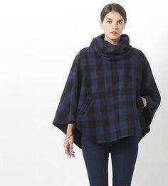 Tutoriel DIY: Coudre une cape en laine à poches via DaWanda.com <3