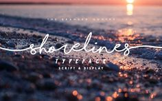 Not your average Cursive font, Shorelines can behave like a girl's handwriting then shreds like a boss over the sea waves! Whether you're a photographer who wants that signature text on your images, or a blogger, maybe a Pro-Surfer? Shorelines Script will cater all your cursive dreams. The imbalance