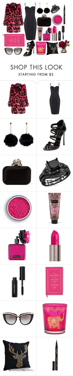 """Fun Pink"" by pulseofthematter ❤ liked on Polyvore featuring Marc Jacobs, Dolce&Gabbana, Casadei, Jimmy Choo, Victoria's Secret, Urban Decay, Bobbi Brown Cosmetics, Kate Spade, Anna-Karin Karlsson and Cultural Intrigue"