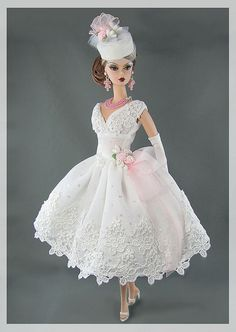 """Wedding Bridal Gown #barbie #fashion"""