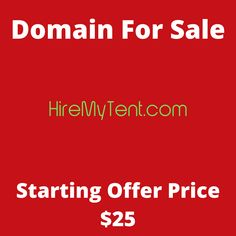 HireMyTent.com domain name for sale! Visit it now to purchase it!  #hire #hiremytent #tent #domainforsale #domainname #domains #domainsale #domainnameforsale #website K Store, Budgeting, Names, Website, Live, Tent, Homemade Tea, Luxury Watches, Bonsai