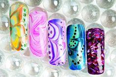 marbleized nail art gallery @nailsmagazine