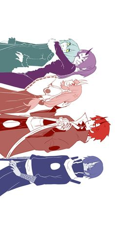 My babyyyyyyyyy ; Fan Anime, Anime Art, Slime Wallpaper, Blue Hair Anime Boy, Manga, Otaku, Sinon Sao, My Little Monster, Identity Art