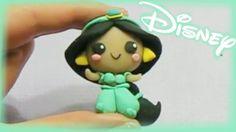 Disney's Jasmine Chibi Polymer Clay Tutorial