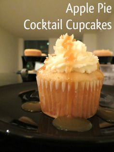 """You had us at """"Apple Pie Cocktail,"""" but when Bourbon and Glitter added the word """"Cupcake,""""  we were racing to the kitchen!"""