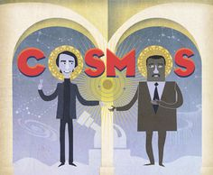 COSMOS: Carl Sagan x Neil deGrasse Tyson. Coming soon to Fox.  March 9.  LOVE IT IS ON FOX!!