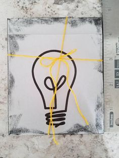 Check out this item in my Etsy shop https://www.etsy.com/listing/570962347/lightbulb-thank-you-card