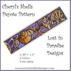 Cheryls Shells Peyote Bracelet Pattern