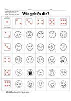 """Jeder Spieler hat fünf Karten. Ein Spieler legt eine Karte und ließt den Satz. Der nächste Spieler legt passende Karte und sagt: """"Ich bin ..."""" - Beschreibung der Situation und Gefühl sollen zueinander passen. Falls der Spieler keine passende Karte hat, nimmt er zwei neue Karten. Der nächste Spieler ist dran. - DaF Arbeitsblätter"""