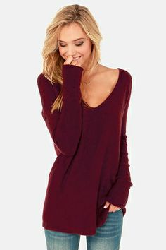Slouchy sweaters....sexy, comfy and stylish...