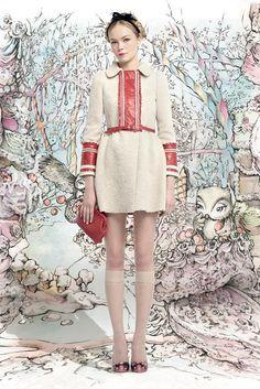 Red Valentino's fall fairytale — Куклы, я и все,все, все