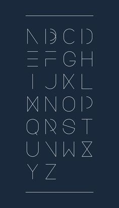 New Urban Font by Polina Dyer