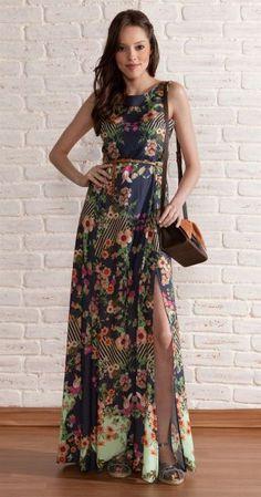 83 vestidos de fiesta largos y estampados para invitadas de boda 2015! Image: 46