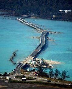 Causeway after hurricane Fabian, 2003