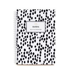 A gorgeous, personalized spiral bound notebook for notes, dreams, ideas and everything in between! Each notebook is hand crafted by me $26