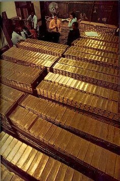 Gold Bars bring abundance of wealth