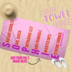 They're machine washable degrees & we promise no one will steal your sunbed with one of these bad boys! Winter Sun, Winter Holidays, Customised Gifts, Phone Covers, Bad Boys, Beach Towel, Laptop Sleeves, Gifts For Him, Holiday Gifts