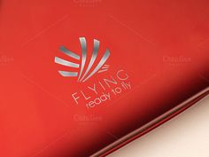 Flying Logo Template by eSSeGraphic on Creative Market