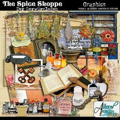 FREE for 48 hours (til Feb.1st) Der Gerwurzladen The Spice Shoppe