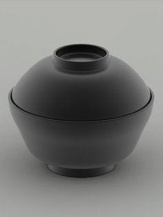 Japanese lacquer bowl by TSUJI Sekisai 辻石齋