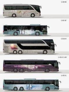 Setra S417 HDH - автобус мечты. Ощутить весь комфорт и красоту вы сможете, заказав аренду автобуса в компании TourBus