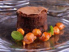 Receta | Coulant de chocolate con avellanas - canalcocina.es