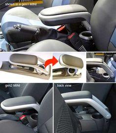 MINI R53 Mini Cooper Models, Mini Cooper S, Mini Cooper Accessories, Mini Clubman, Car Seats, Car Stuff, Storage, Interior Ideas, Annie