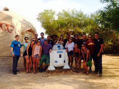 Kibbutz Lotan is a totally sustainable  community near Eilat that has more than a passing resemblance to Tattoine (Star Wars) #Sachlav #Taglit