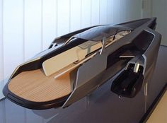 Audi trimaran yacht sails with two jet skis on its side pods - Yacht Design, Boat Design, Cool Boats, Small Boats, Speed Boats, Power Boats, Jet Ski, Yatch Boat, Floating Architecture
