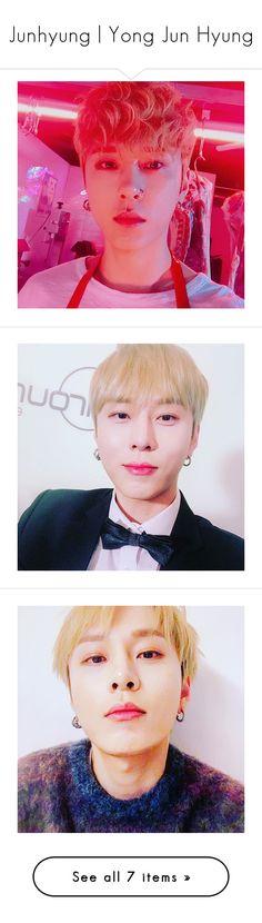 """Junhyung | Yong Jun Hyung"" by niisabel ❤ liked on Polyvore"