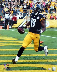 32038fb9588 JuJu Smith-Schuster Autographed 16x20 Photo Pittsburgh Steelers Beckett BAS  Stock #130746