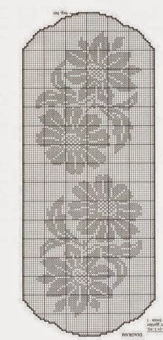 World crochet: Tablecloth 5: